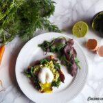 Quiche con barbabietola e green kale